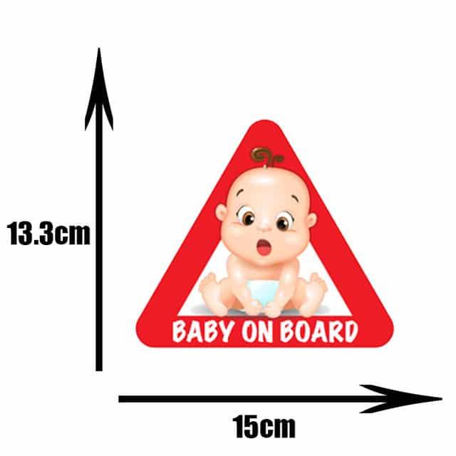 Pegatinas de PVC para coche de beb pegatinas para ventana de dibujos animados decoraci n de.jpg 640x640 9