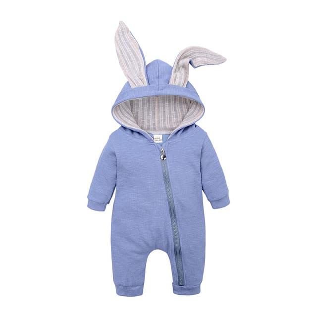 Ropa para beb reci n nacido peleles de conejito para beb Sudadera con capucha de algod.jpg 640x640 2 1